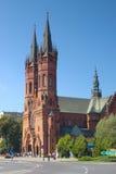 圣洁家庭教会在Tarnow,波兰 免版税库存图片