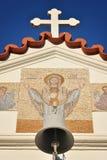 圣洁寺庙在罗得岛 库存照片