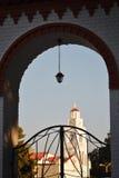 圣洁寺庙在罗得岛 库存图片