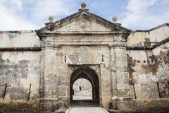 圣费尔南多de Bocachica堡垒  库存照片