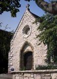 圣贞德教堂,马凯特大学 库存图片