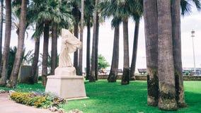 圣贞德-戛纳雕象  库存照片