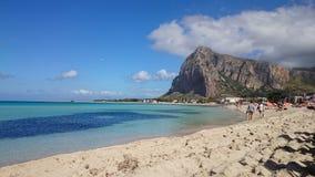 圣维托lo品柱-西西里岛 免版税库存图片