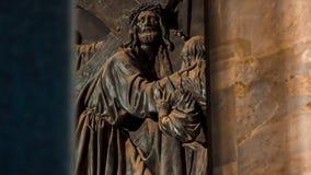 圣以撒` s大教堂装饰门  股票录像