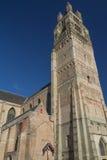 圣洁救主大教堂在布鲁日(比利时) 免版税库存照片
