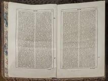 圣经(旧约), 18世纪的结尾 免版税图库摄影