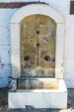 圣洁春天在特罗扬修道院里,保加利亚 免版税库存图片