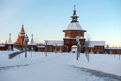 圣洁春天gremyachiy Klyuch 朝圣中心 免版税库存图片