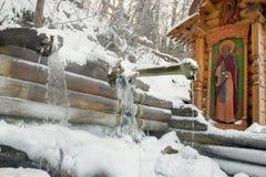 圣洁春天gremyachiy Klyuch Svyatogorye 图库摄影