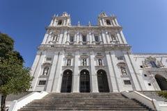 圣维森特de Fora Monastery里斯本 免版税图库摄影