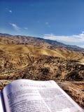 圣经热爱 免版税库存照片