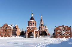 圣洁王子弗拉基米尔的大教堂在市Novocheboksarsk俄罗斯 免版税库存照片