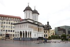 圣洁王子Church在Targu Jiu 免版税库存图片