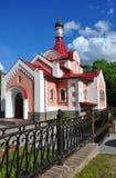 圣洁的贞女大教堂的教堂在市哥罗德诺 迟来的 免版税库存图片
