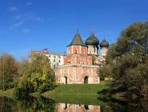 圣洁的贞女的调解的教会在Izmailovo 免版税图库摄影