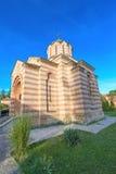 圣洁皇帝康斯坦丁和女皇-塞尔维亚教会  免版税库存图片