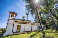 圣洁美术馆 乌贝拉巴,米纳斯吉拉斯州-巴西 免版税库存图片