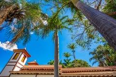 圣洁美术馆 乌贝拉巴,米纳斯吉拉斯州-巴西 免版税图库摄影