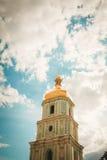 圣索菲娅大教堂塔  免版税库存图片