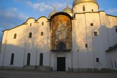 圣索菲娅& x28大教堂; God& x29圣洁智慧; Veliky 11月 库存图片