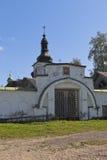 圣洁门Goritsky Voskresensky修道院在沃洛格达州地区 免版税库存图片