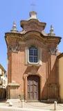 圣洁露西娅教会,亚历山德里亚,意大利 免版税库存图片