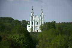 圣索非亚大教堂伟大的Euphrosyne Polotsk,被恢复 免版税图库摄影