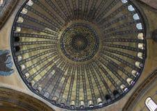 圣索非亚大教堂的圆顶 库存图片
