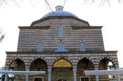 圣索非亚大教堂Hurrem苏丹巴恩从 图库摄影