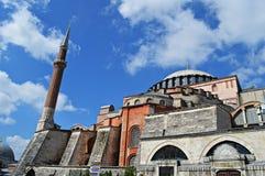 圣索非亚大教堂Istambul 免版税库存照片