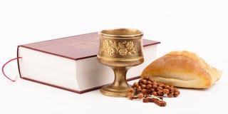 圣洁面包 免版税库存图片