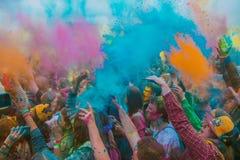 圣洁颜色欢乐在圣彼德堡 免版税库存照片