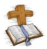 圣经 向量例证