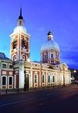 圣洁greatmartyr和愈疗者Panteleimon,圣彼德堡的教会 免版税库存图片