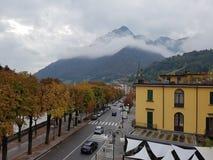 圣・ Pellegrino Terme 库存照片
