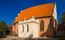 圣Adalbert或圣Wojciech教会在波兹南 库存图片