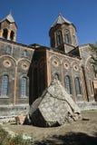 圣Amenaprkich和片段教会库尔的圆顶 免版税库存照片