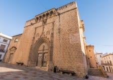 教会在Javea,西班牙 免版税库存照片