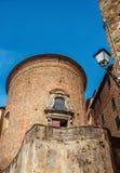圣Benedetto教会在科尔托纳 库存图片