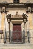圣Benedetto教会  马萨夫拉 普利亚 意大利 库存图片