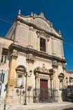 圣Benedetto教会  马萨夫拉 普利亚 意大利 图库摄影