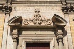 圣Benedetto教会  马萨夫拉 普利亚 意大利 免版税库存图片