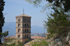 圣Benedetto钟楼  免版税库存照片