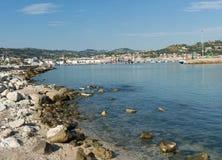 圣Benedetto del Tronto -阿斯科利皮切诺-意大利的沿海岸区 免版税库存照片