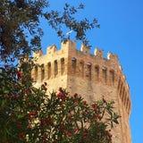 圣Benedetto del Tronto 库存照片