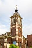 圣Benet保罗的码头教会在伦敦 免版税库存图片