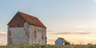 圣Cedd教会  免版税库存图片