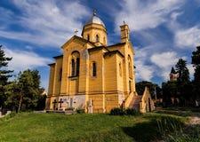 圣Dimitrije教会在贝尔格莱德 库存图片