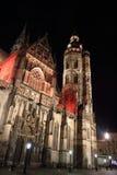 圣Elisabeth大教堂在科希策,斯洛伐克 免版税库存照片