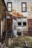 圣Elmo科罗拉多鬼城-被放弃的大厦 库存图片